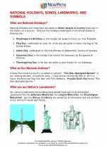 Holidays, Landmarks, & Symbols