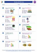 Goods and Services. Social Studies Worksheets and Study Guides Third ...
