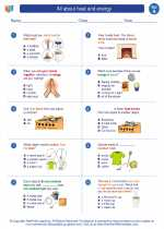 All about heat and energy science worksheets and study guides first second grade science all about heat and energy ibookread Read Online