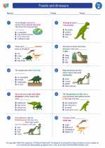 fossils and dinosaurs science worksheets and study guides second grade texas teks standards. Black Bedroom Furniture Sets. Home Design Ideas