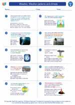 Weather, Weather patterns and climate. Science Worksheets and Study ...