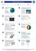 Earth's energy resources