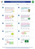 Proportions/Equivalent Fractions