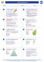 Microorganisms II. Biology Worksheets and Study Guides High School ...