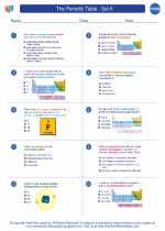 The Periodic Table - Set II