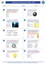 Electricity and Electrical Energy - Set I