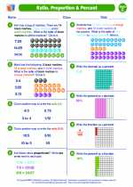 Ratio, Proportions and Percent