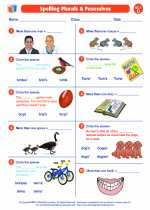 Spelling Plurals & Posessives