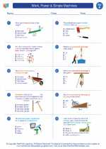 Work, Power & Simple Machines