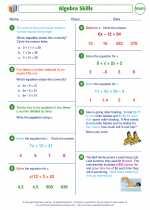 Algebra Skills