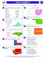 States & Capitals II