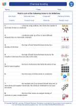 Chemical bonding. 8th Grade Science Worksheets and Answer ...