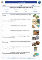 Earth's Crust. Earth Science Worksheets and Study Guides ...