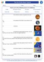 The Sun Earth Moon System Science Worksheets And Study Guides