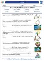 Ecology I. High School Biology Worksheets and Answer Keys ...