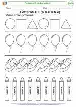 Patterns III (a-b-c-a-b-c)