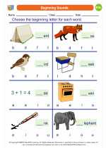 Beginning Sounds